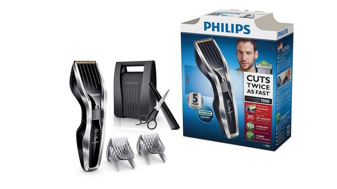 Tondeuse barbe cheveux: Philips HC745080
