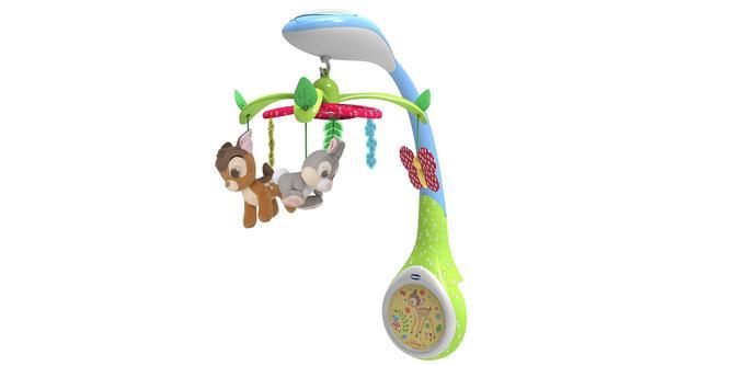 Mobile pour bébé Chicco mobile projection Bambi