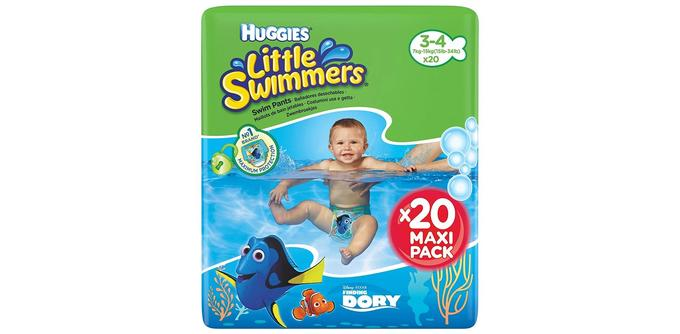 Couches bébé Huggies Little Swimmers