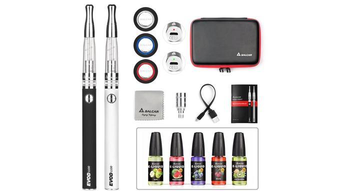 Cigarette électronique sans nicotine: Salcar Evod CE8 E-cigarette Kit