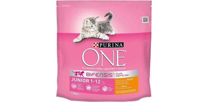 Croquettes pour chaton Purina One Junior au poulet