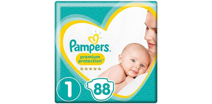 Couches bébé Pampers New Baby Premium Protection