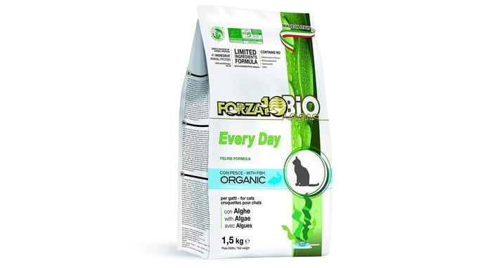 Croquettes pour chat adulte Forza10 BIO Every day aux algues bio