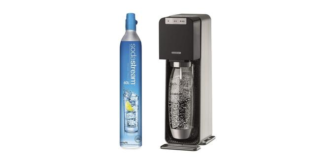 Sodastream Source Power, machine à eau pétillante noire