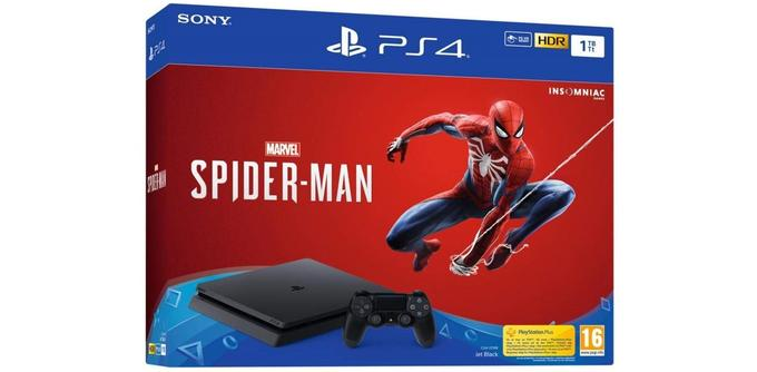 Console de jeu PS4 Slim 1TO +Spider-Man
