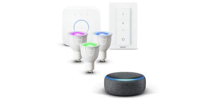Enceinte connectée Kit Echo Dot dernière génération