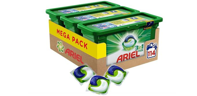 Lessive microdosée Ariel 3en1 Écodoses