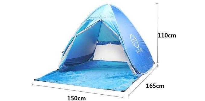 Tente de plage anti-UV Oummit