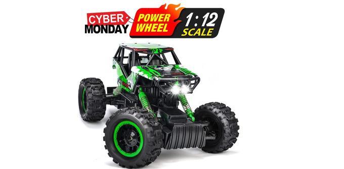 Voiture télécommandée Double E Rock Crawler 4WD