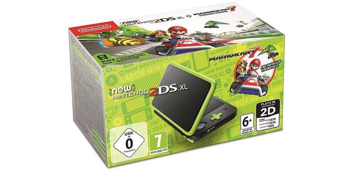 New Nintendo 2DS XL avec Mario Kart 7