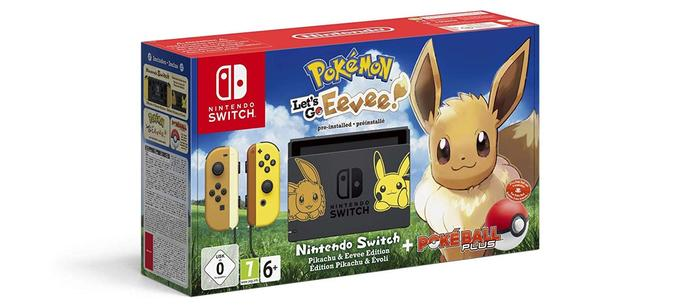 Nintendo Switch avec Pokémon