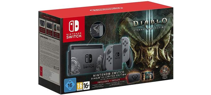 Nintendo Switch avec Diablo III Limited Edition