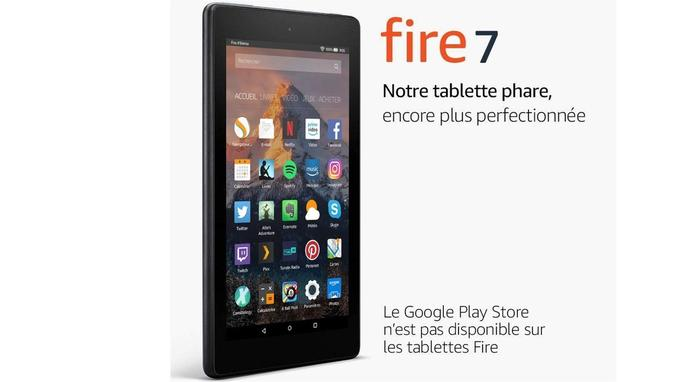 Tablette Amazon Fire 7 16 Go