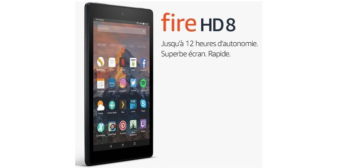 Tablette Amazon Fire HD 8 7e génération