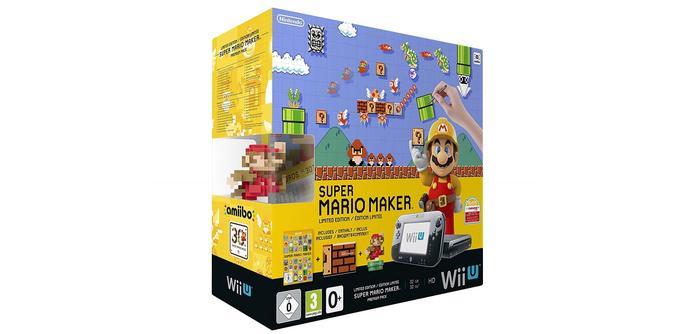 Nintendo Wii U avec Super Mario Maker