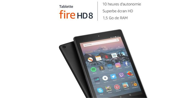 Tablette Amazon Fire 8 32 Go