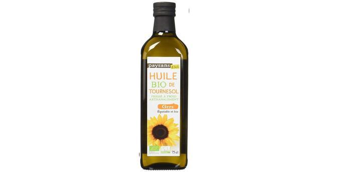Paysans d'ici une huile de tournesol bio