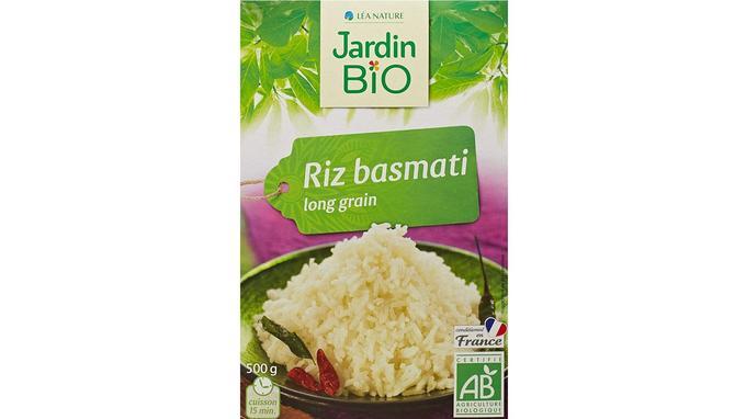 Jardin bio riz basmati long grain