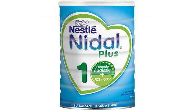 Lait infantile Nestlé Nidal Plus 1
