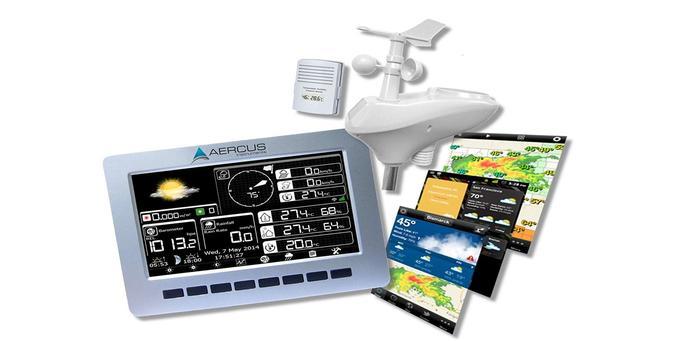 Station météo connectée Aercus Instruments WeatherRanger
