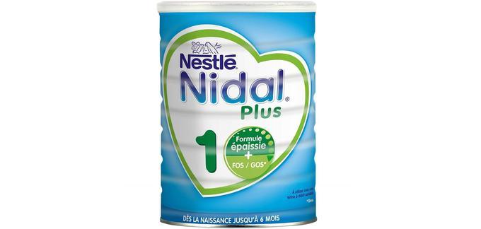 Lait infantile de qualité Nestlé Nidal Plus 1