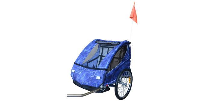 Remorque à vélo pour enfant Papilioshop Eagle