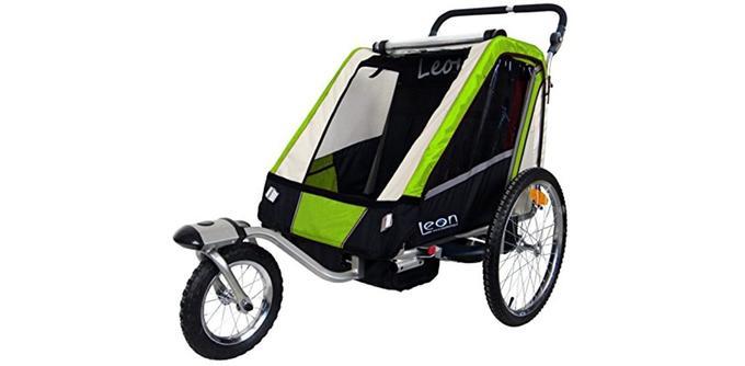 Remorque à vélo pour enfant Papilioshop Leon
