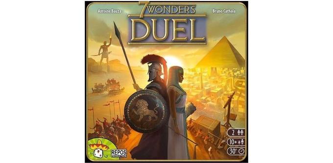Jeu de cartes 7 Wonders Duel