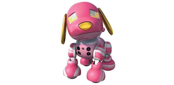 Chien robot Zoomer Mini Zuppies Candy