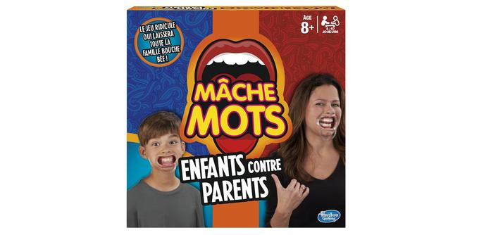 Jeu de société Mâche-mots Enfants contre Parents