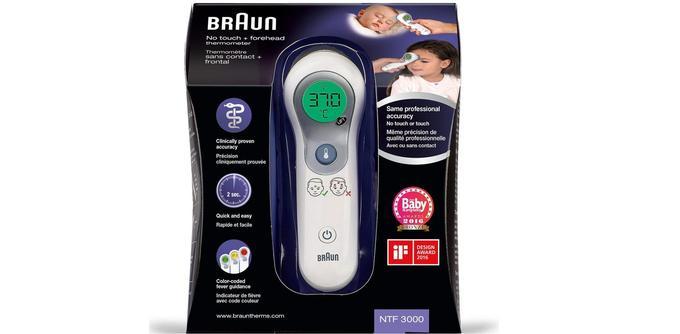 Thermomètre frontal Braun NTF 3000