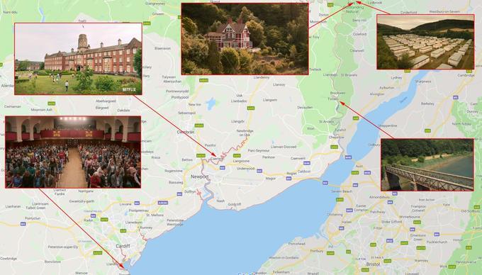 Le lieux de tournage de Sex Education au Pays de Galles