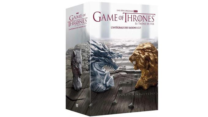 Série Game of Thrones en DVD