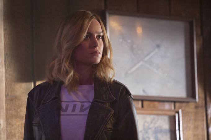 Brie Larson endosse le costume du premier super-héros féminin de la Maison des idées dans «Captain Marvel».