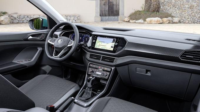 La qualité de fabrication est digne des standards VW mais les matériaux sont trop hétérogènes.