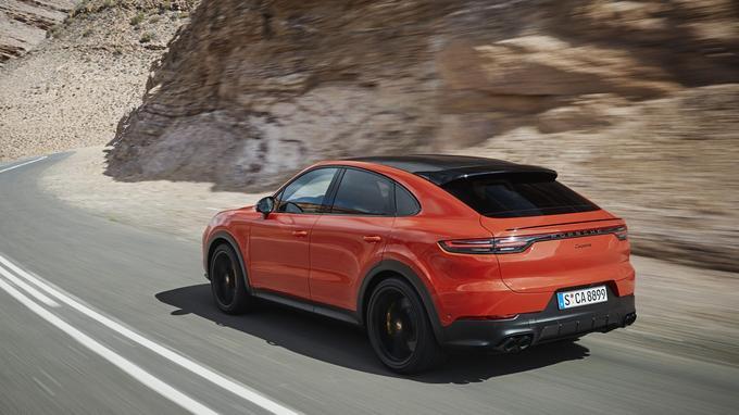 Porsche Cayenne Coupé : premier dessin du SUV Coupé de Porsche