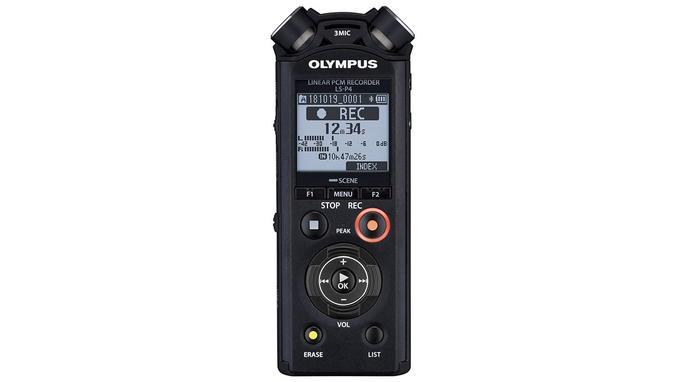 Dictaphone: Olympus LS-P4 PCM FLAC