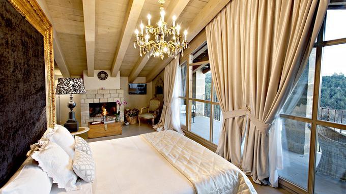 L'hôtel La Vella Farga, le luxe version XVIIIe.