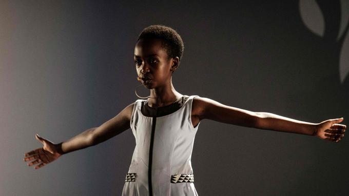 Des artistes populaires rwandais ont performé.