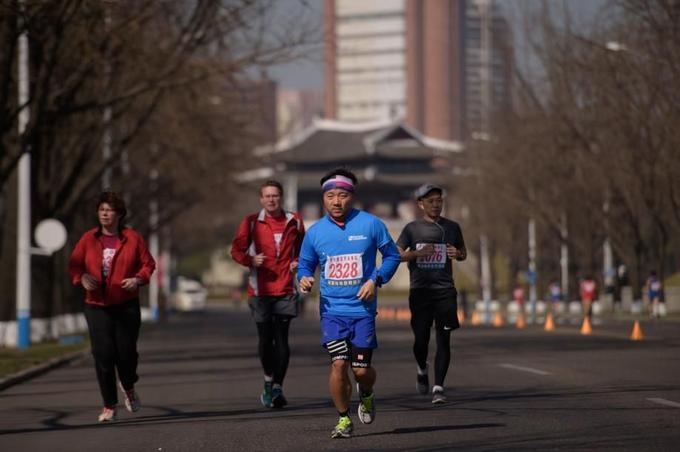 Au-delà de l'initiative touristique, la course attire aussi les «chasseurs de marathons».