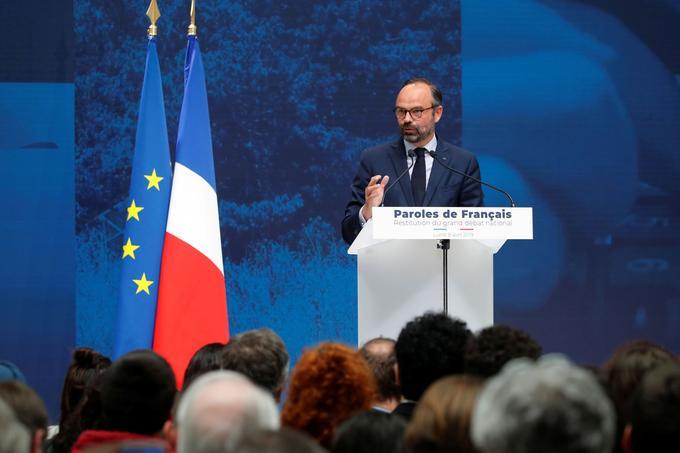 Édouard Philippe a rendu compte, lundi au Grand Palais, des contributions des Français au grand débat national.