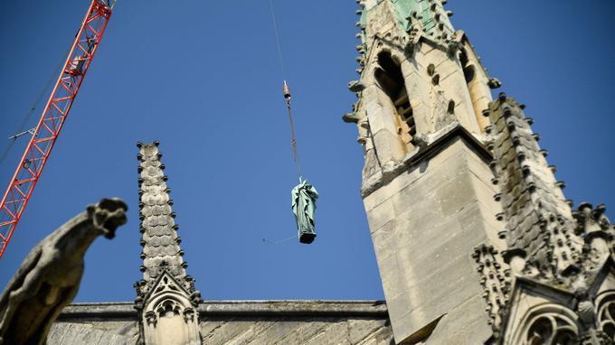 Le chantier est estimé à 11millions d'euros, dont 800.000 pour les seules statues.