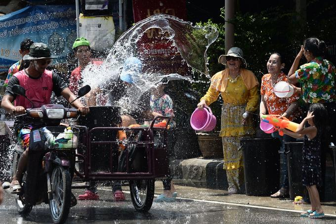 La période de Songkran est réputée être la plus dangereuse pour voyager.