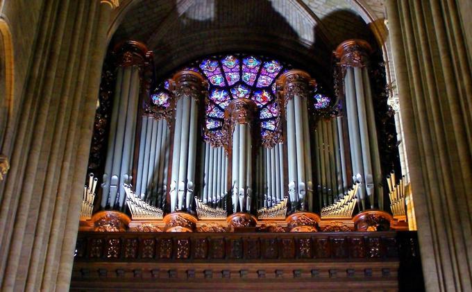 Le grand orgue de Notre-Dame de Paris.