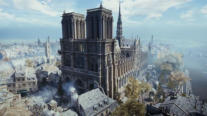 La reconstitution 3D de Notre-Dame dans le jeu Assassin's Creed Unity ne devrait pas être utile aux rebâtisseurs.