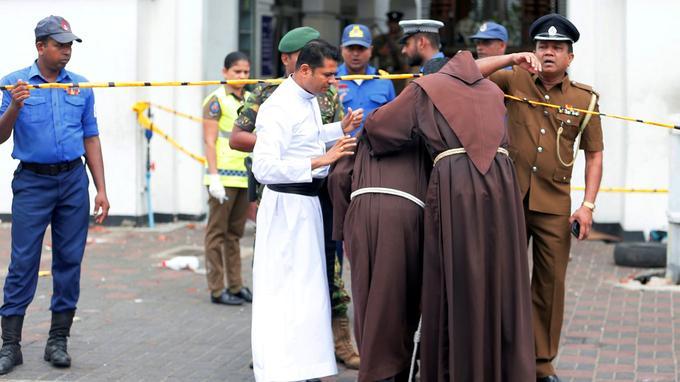 Les autorités traquent les islamistes responsables des attentats — Sri Lanka