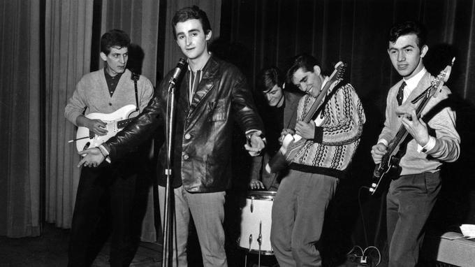 Dick Rivers et les Chats sauvages en 1962.