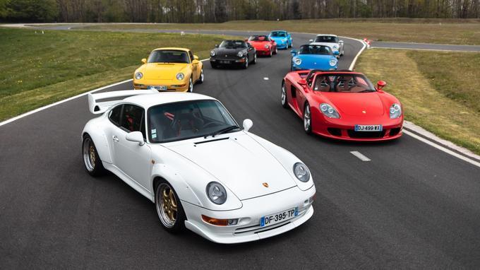 Le collectionneur Éric Coicaud compte se séparer de neuf machines de la marque de Stuttgart parmi les plus recherchées.