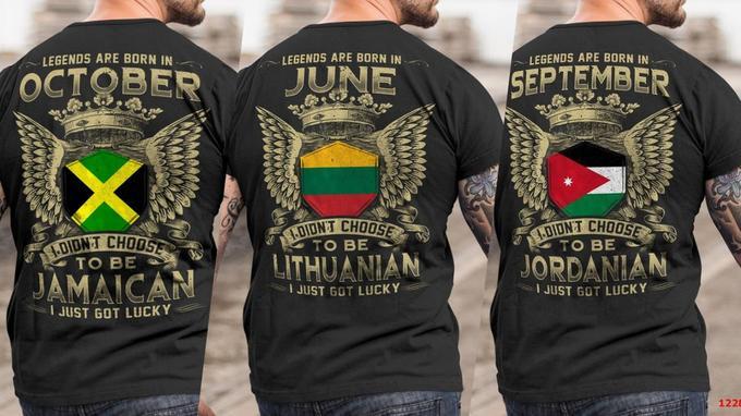 «Les légendes sont nées en Octobre/Juin/Septembre. Je n'ai pas choisi d'être Jamaïcain/Lituanien/Jordanien, j'ai simplement eu de la chance».
