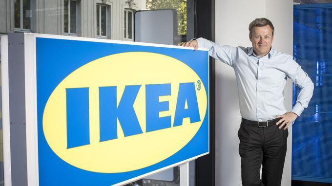 Le PDG d'Ingka Group, la holding qui chapeaute Ikea, Jesper Brodin, à Paris, lundi 6 mai.